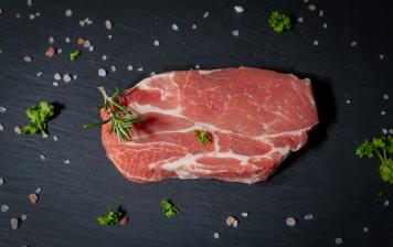 Pork neck slices GRTA