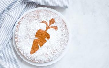Gâteau aux carottes pour Pâques