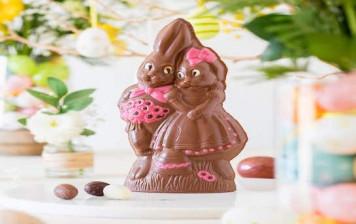 Lapin Couple au chocolat...