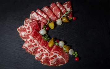 Coppa di Zibello - sliced