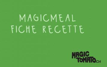 MagicMeal - fiche recette