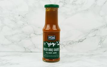 Sauce BBQ à la bière